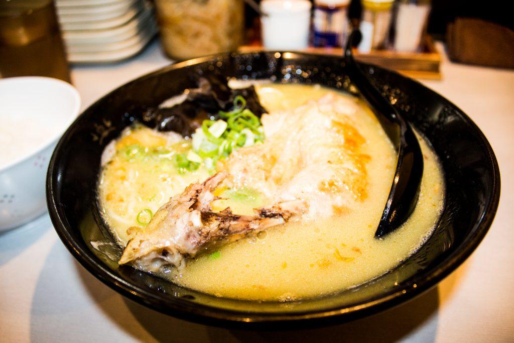 Tori King chicken ramen noodle soup dish