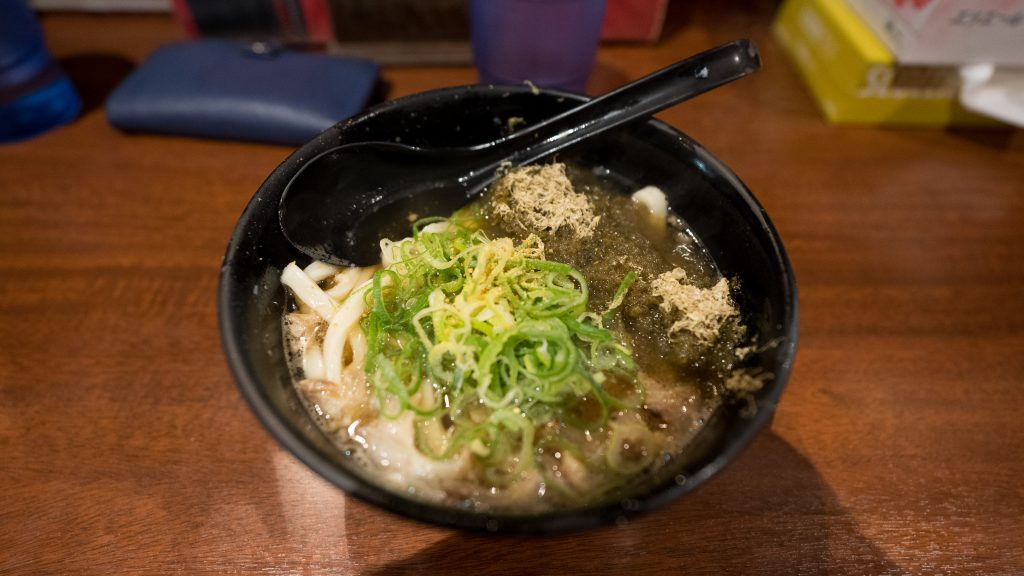 Kasu Udon With Konbu