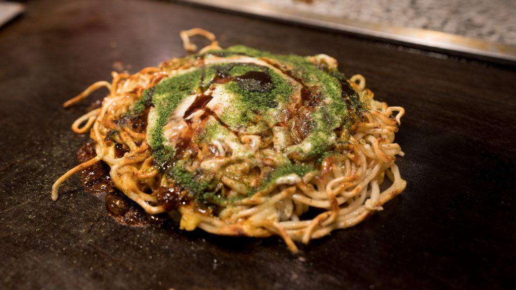 modernyaki in Osaka