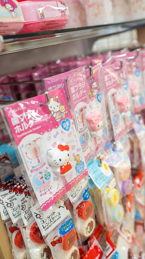 Sanrio Goods At Daiso