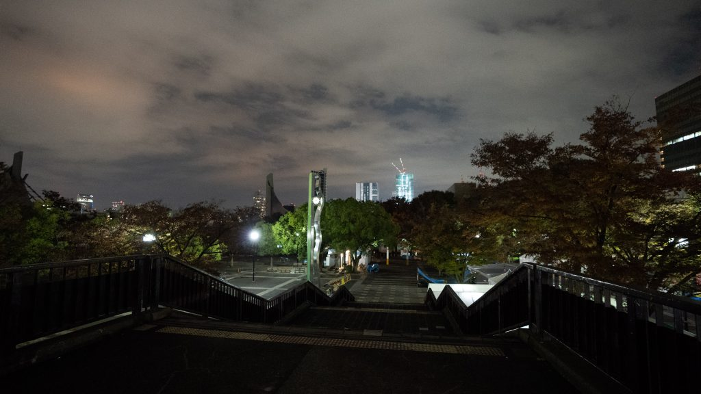 YOYOGI PARK AND YOYOGI NATIONAL GYMNASIUM In Real Life