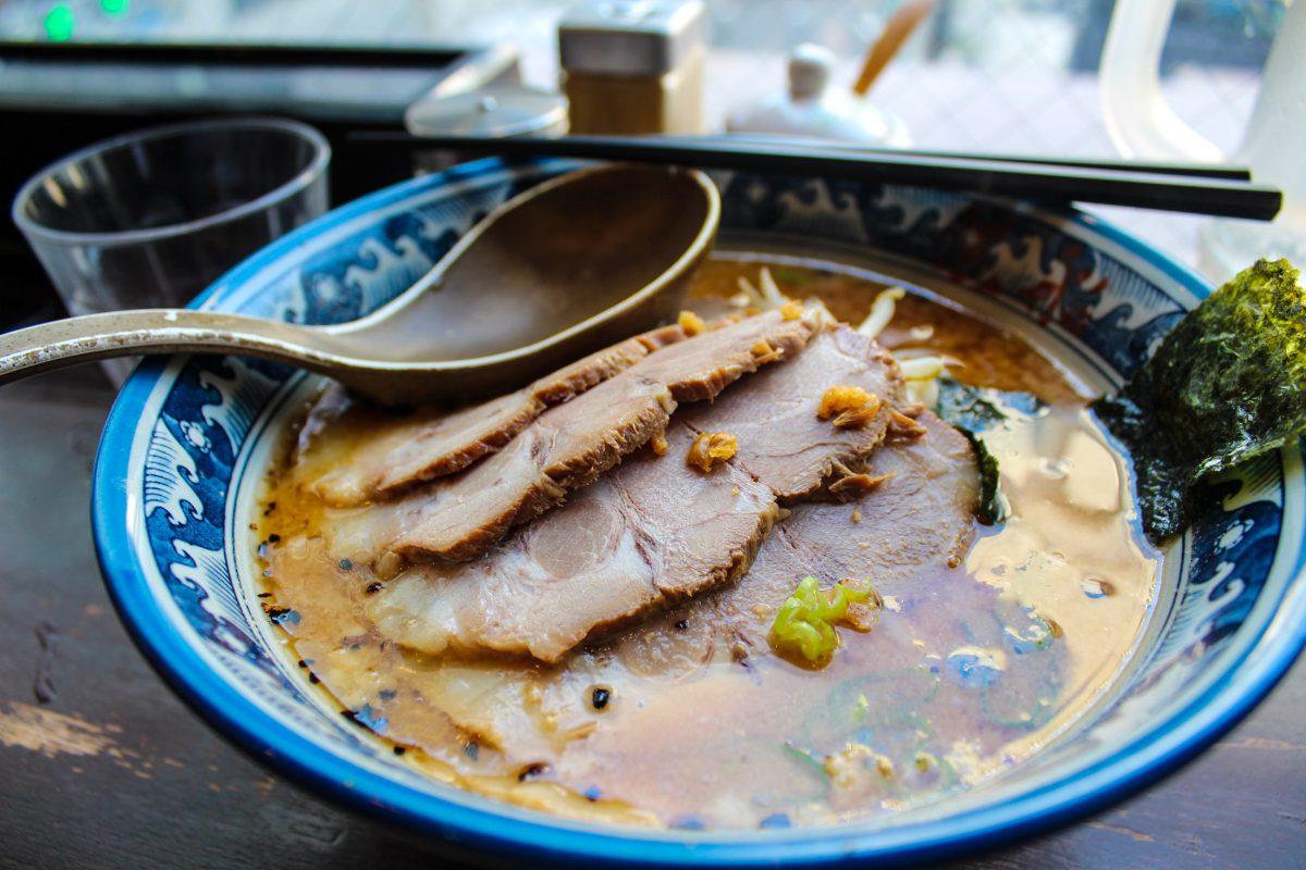 bowl of ramen In Akihabara