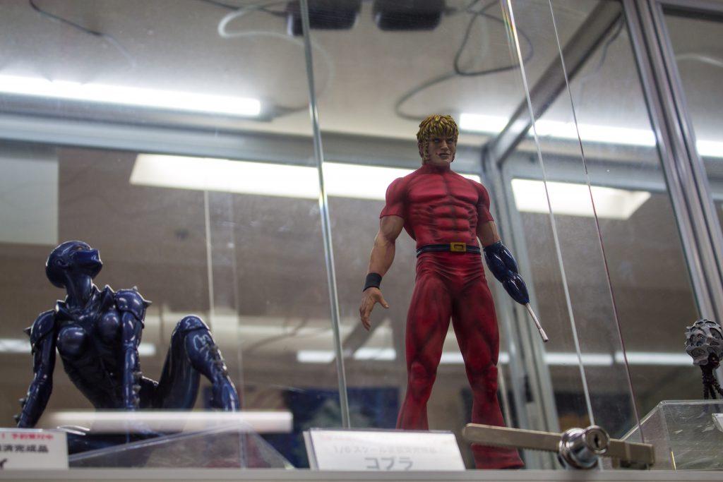 Figure display In Akihabara