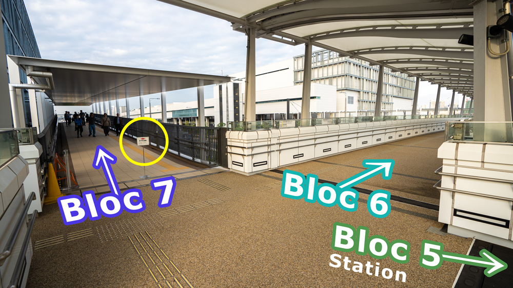 Visitor Route At Toyosu Fish Market