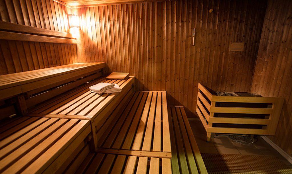 Sauna In Onsen