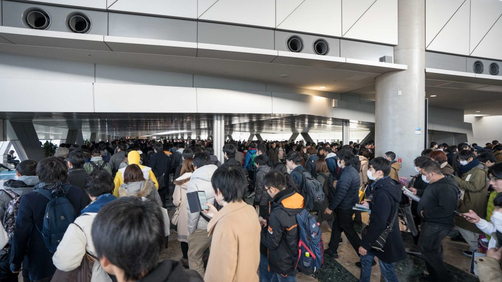 Crowded Comiket