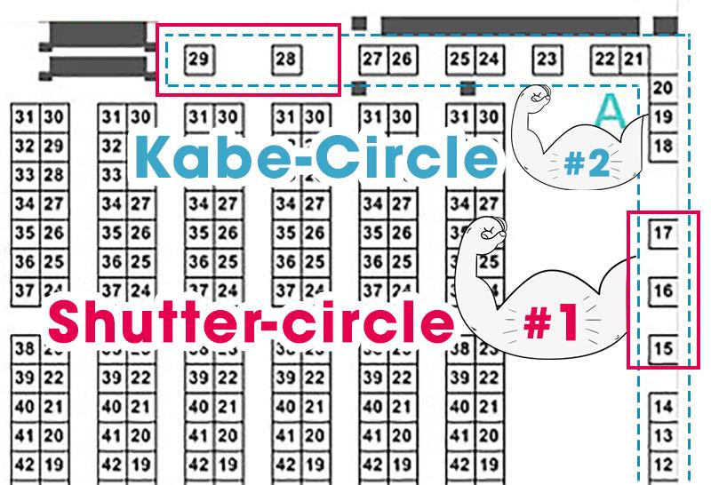 Circles at Comiket