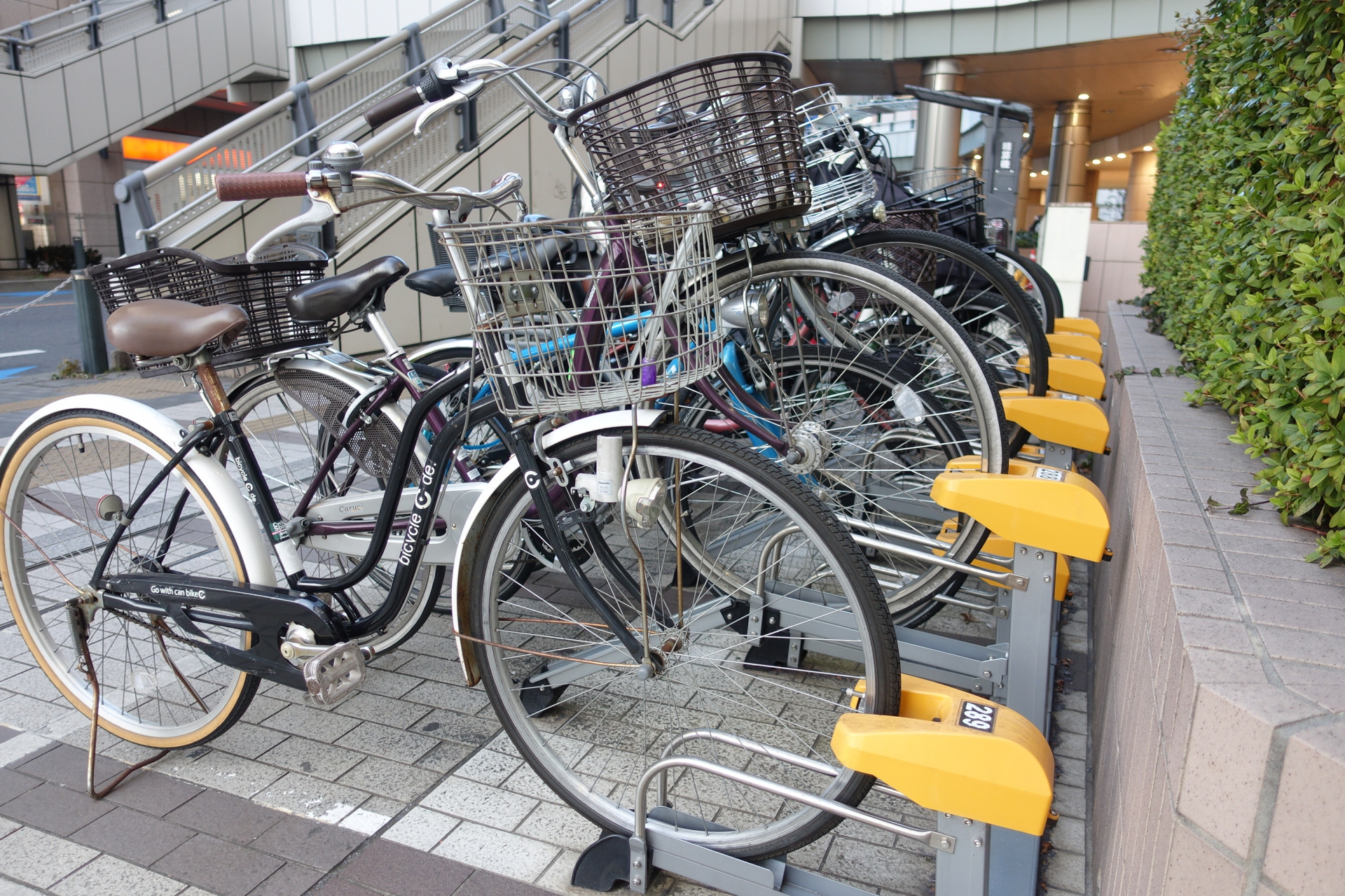 parking area for bicycle in Japan