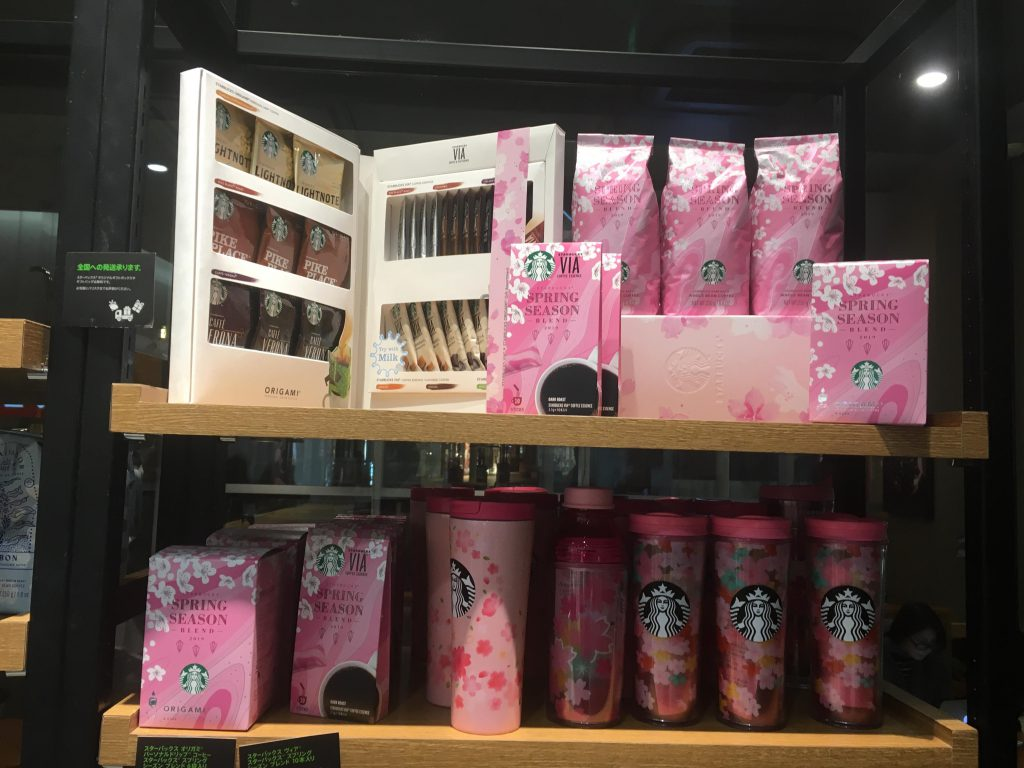 Starbucks hanami specials