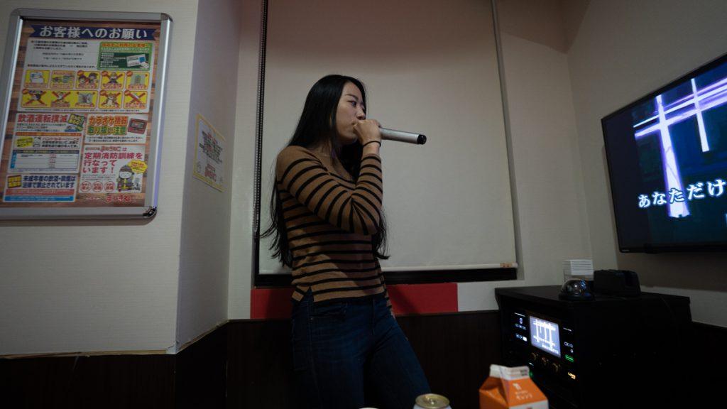 singing karaoke in tokyo