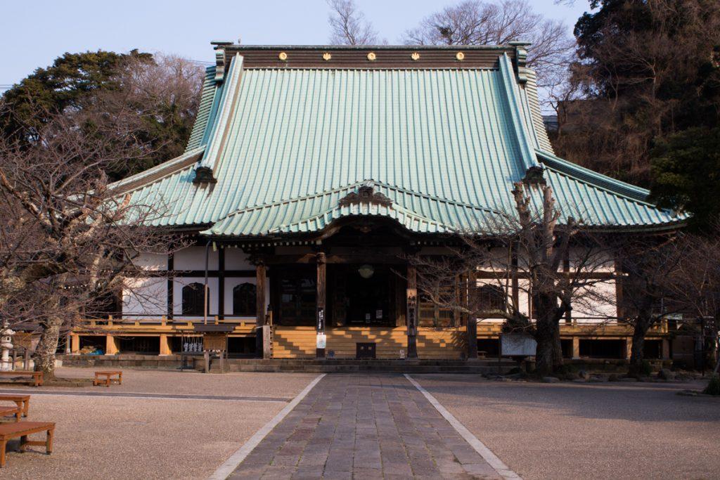 Komyajo Temple main hall in Kamakura