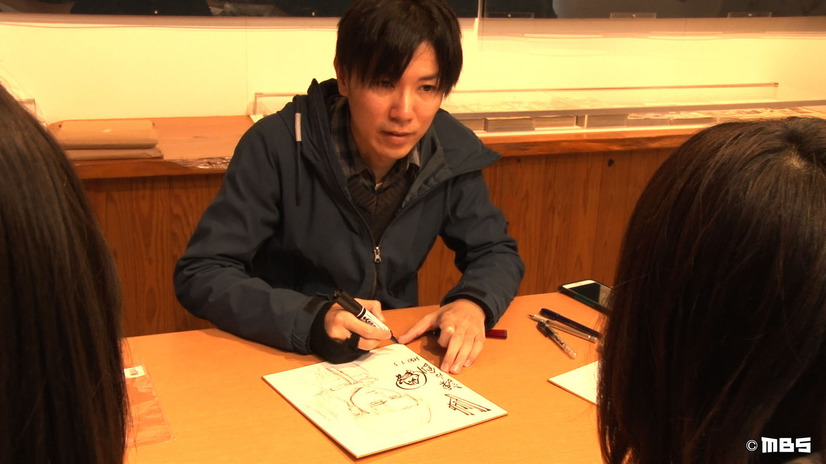 Isayama likes drawing