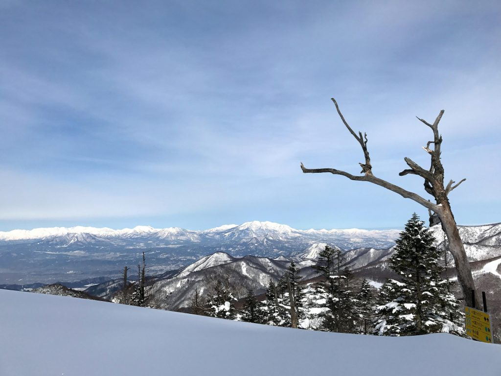 Shigakougen ski resort in Japan