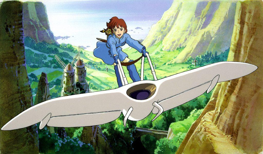 Nausicaä of the Valley of the Wind. Studio Ghibli