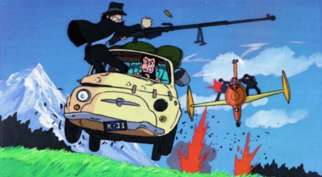 Lupin the Third: The Castle of Cagliostro. TMS Entertainment Co., Ltd.