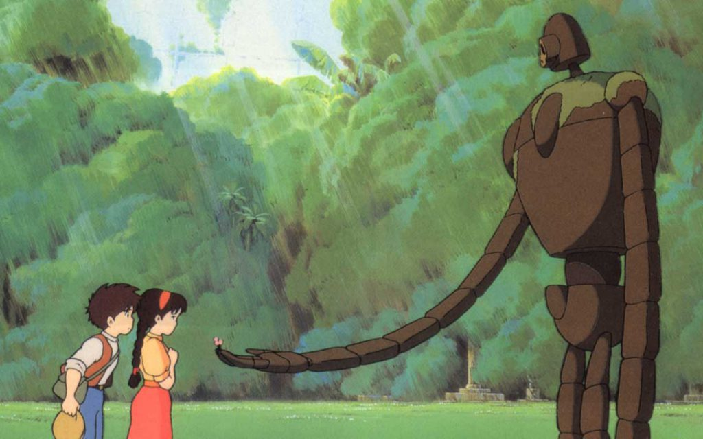 Laputa: Castle in the Sky. Studio Ghibli