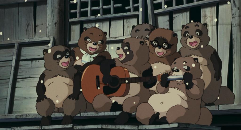 Pom Poko. Studio Ghibli