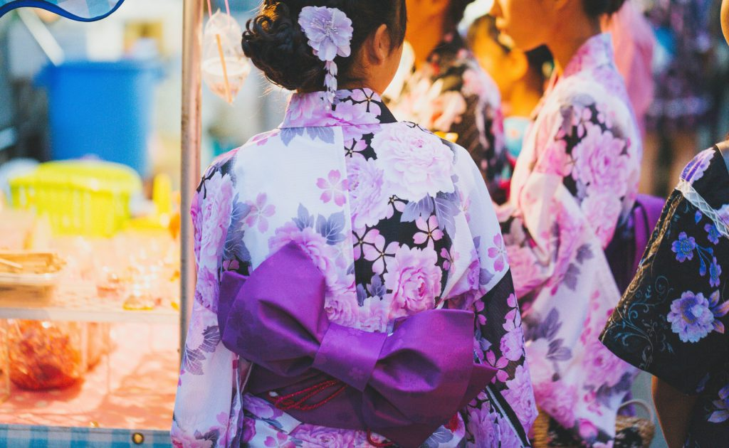 Yukata is only for summer