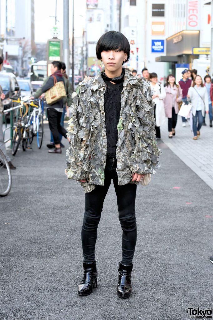 tokyo fashion androgynous