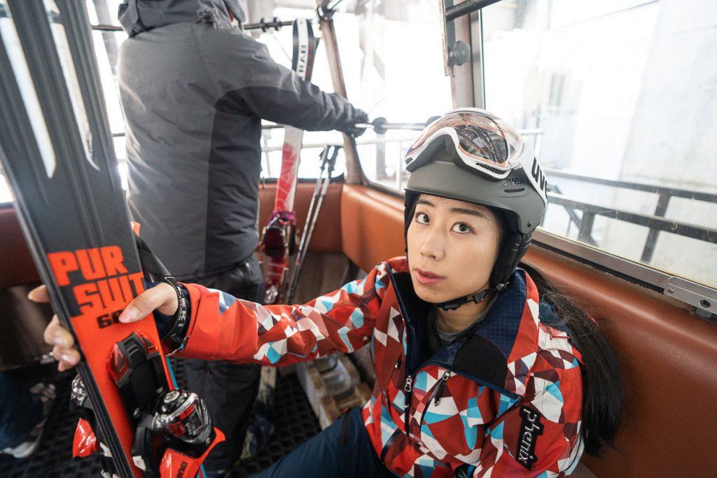 Gondola at Kagura Ski Resort