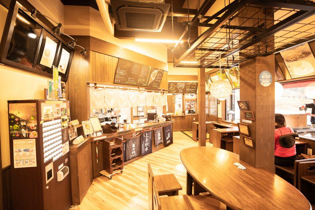 Restaurant at Mitsuya road station