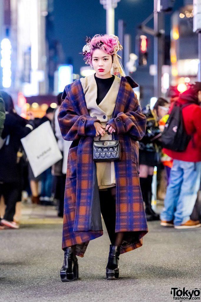 Tokyo fashion oversized clothing