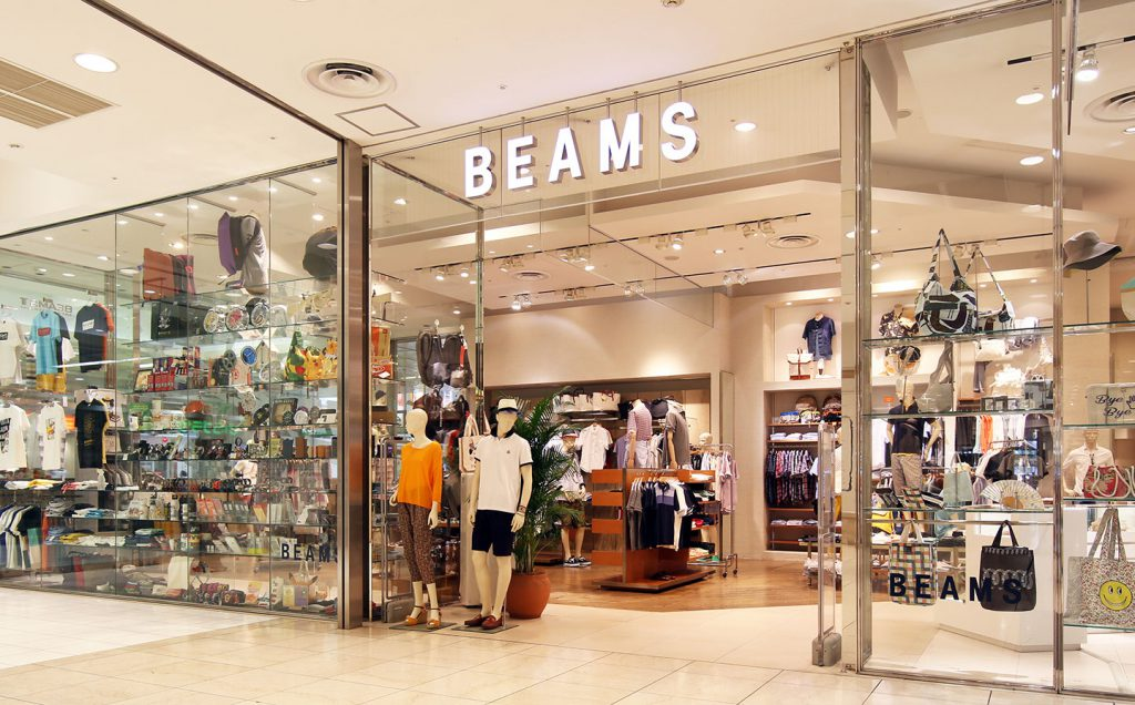 beams tokyo harajuku store