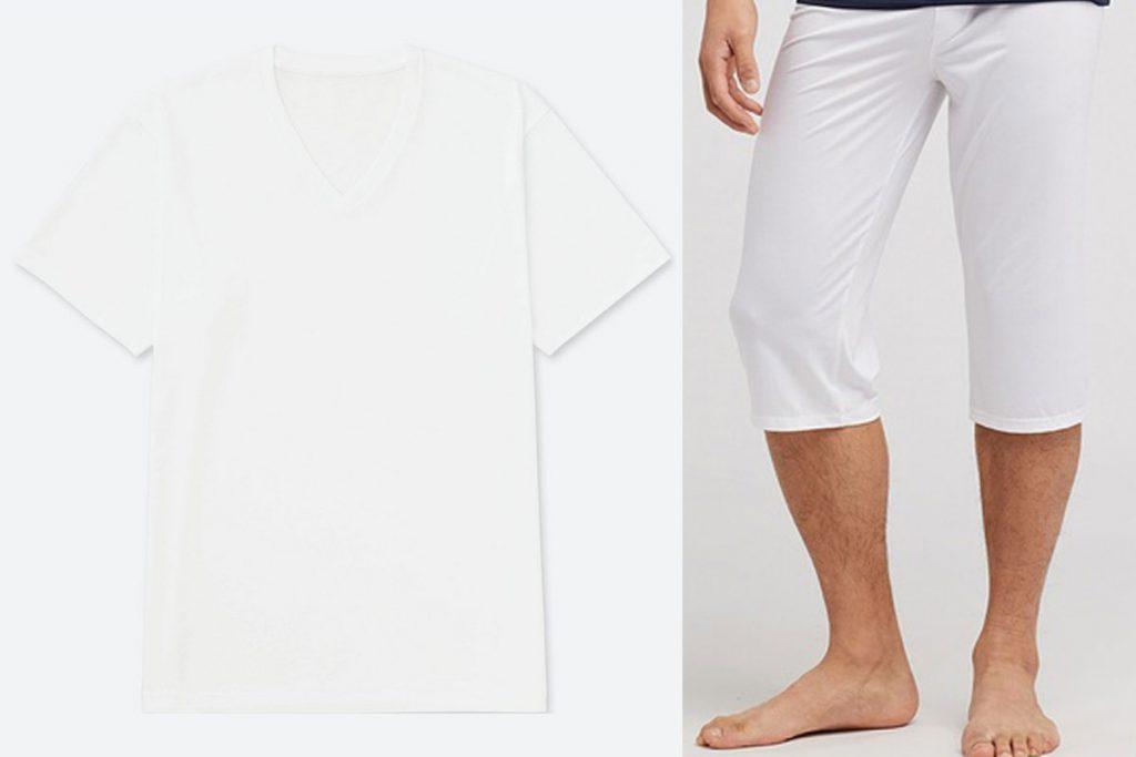 Inner T-shirt and pant for male yukata