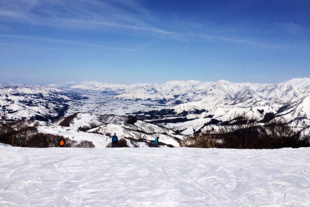 View from Kagura Ski Resort