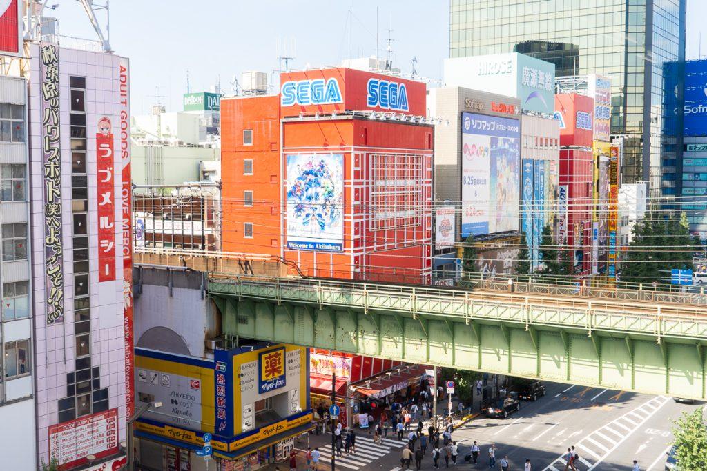 SEGA in Akihabara