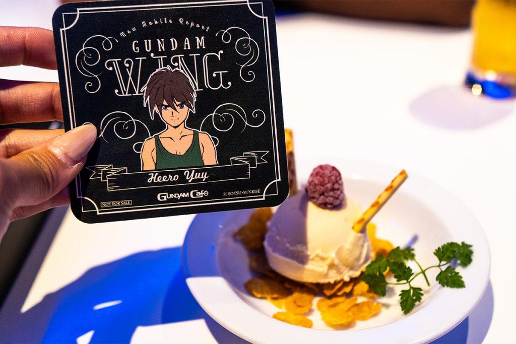 Dessert at Gundam Cafe
