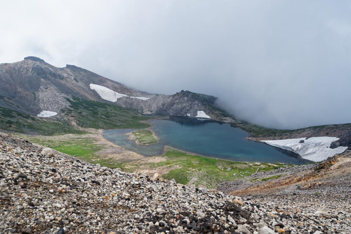 Lake Gongen, Mount Norikura