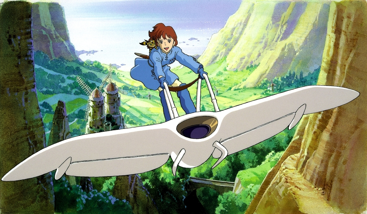 Nausicaa of the vallley of the wind