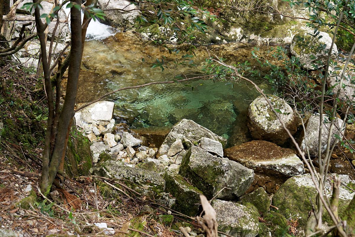 From a bridge on the Arakawa Hiking Trail