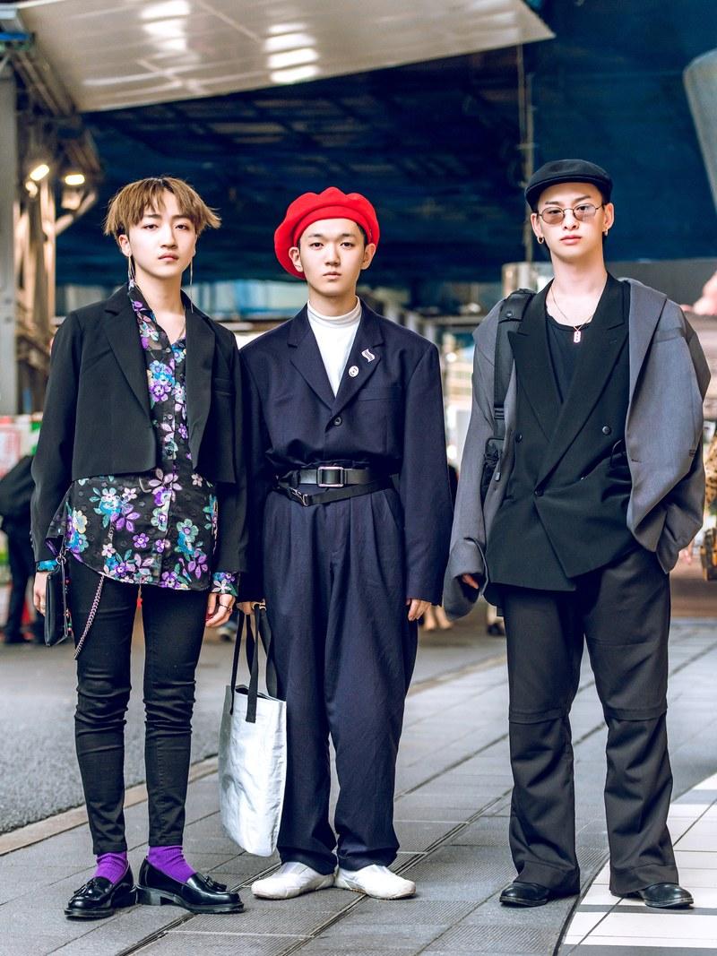 Japanese spring street fashion
