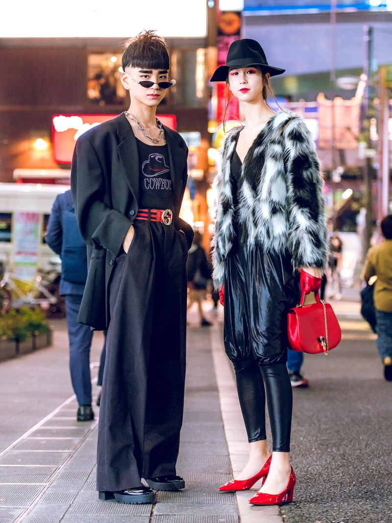 High waist Japan street fashion