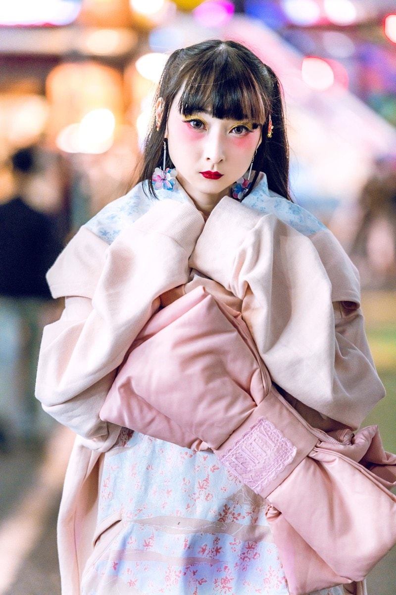 Japanese street fashion traditional japanese dresses