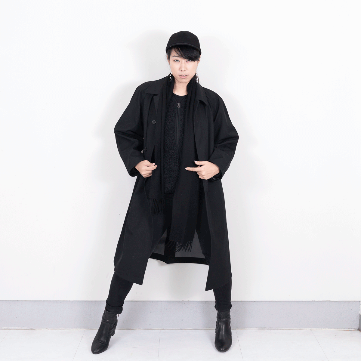 Blocktech oversized coat
